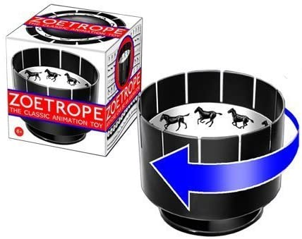 Eye Think Zoetrope Animation Toy