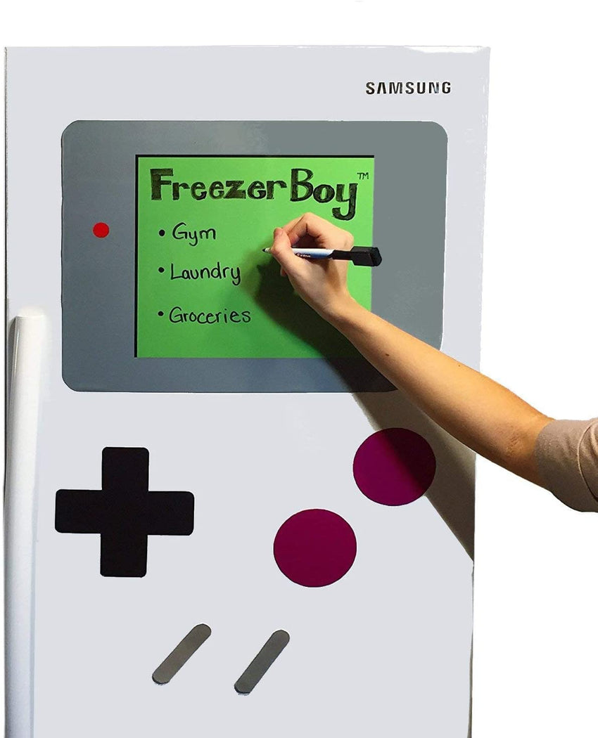 Dry-Erase Whiteboard Refrigerator Magnets