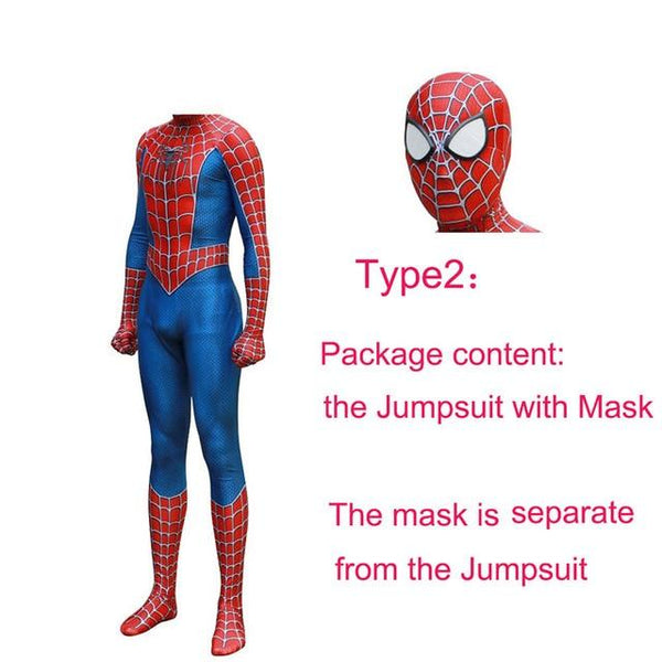 Spiderman Costume Lens Mask