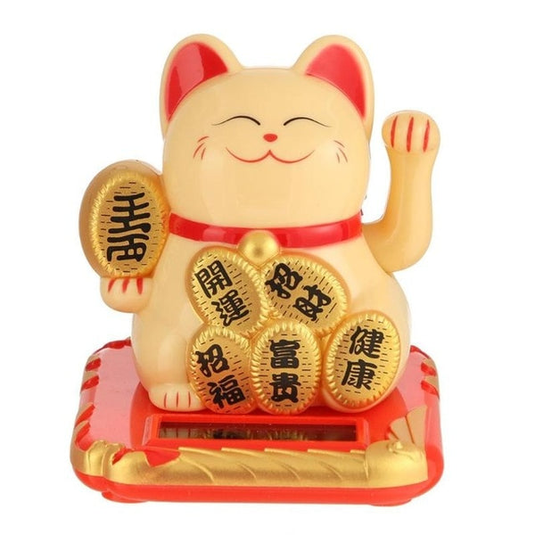 Wealth Waving Shaking Hand Lucky Cat