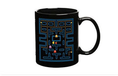 Pacman Ceramic Coffee Tea Mugs