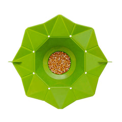 Microwaveable Silicone Popcorn Maker Bowl