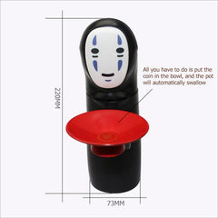 Spirited Away Kaonashi No-face Piggy Bank