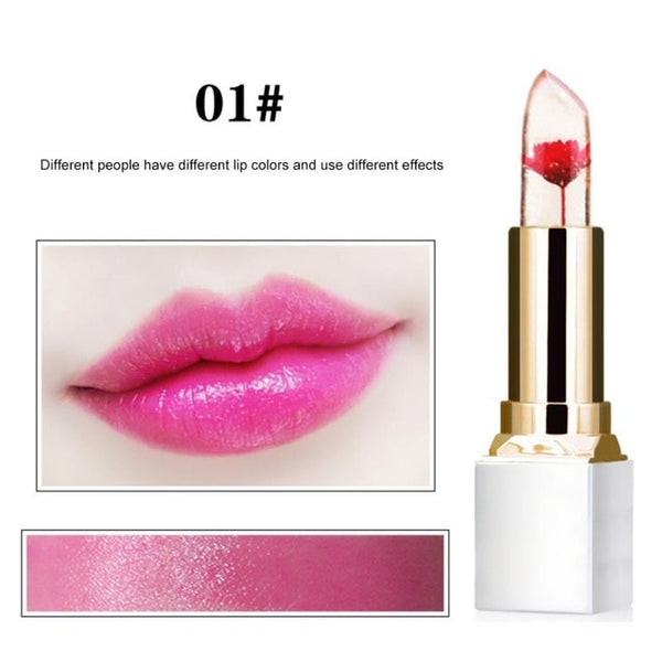 Dried Flower Jelly Lipstick