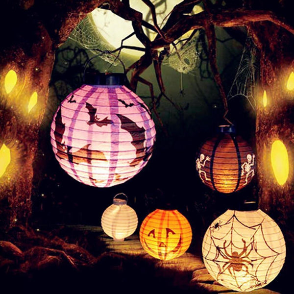 Pumpkin Light Hanging Lantern Halloween Lamp
