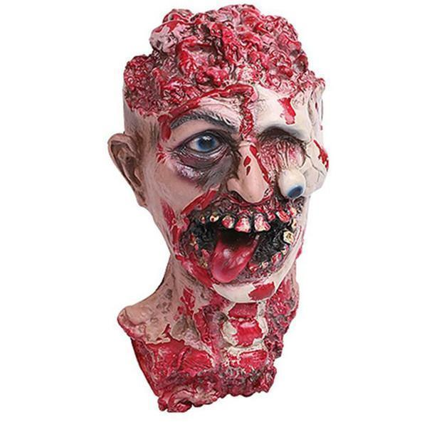 Adult Latex Bloody Zombie Melting Mask