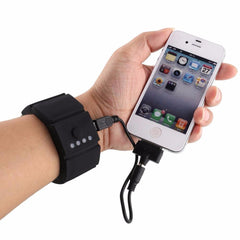 Wrist Battery Band Power Bank, Portable USB Battery Bank Chargers