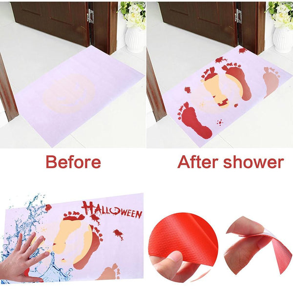 Bloody Bath Mat Color Changing