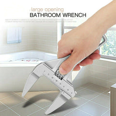 Universal Wrench Multi-function Large Opening Bathroom Wrenches Adjustable Tools