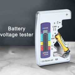Universal Digital LCD Battery Tester