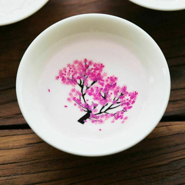 Magic Sakura Cup Cold Temperature Color Changing