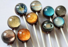 Space Cosmic Food Solar System Lollipops
