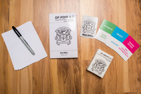Design Fiction Product Design Work Kit 0-TBD-D012