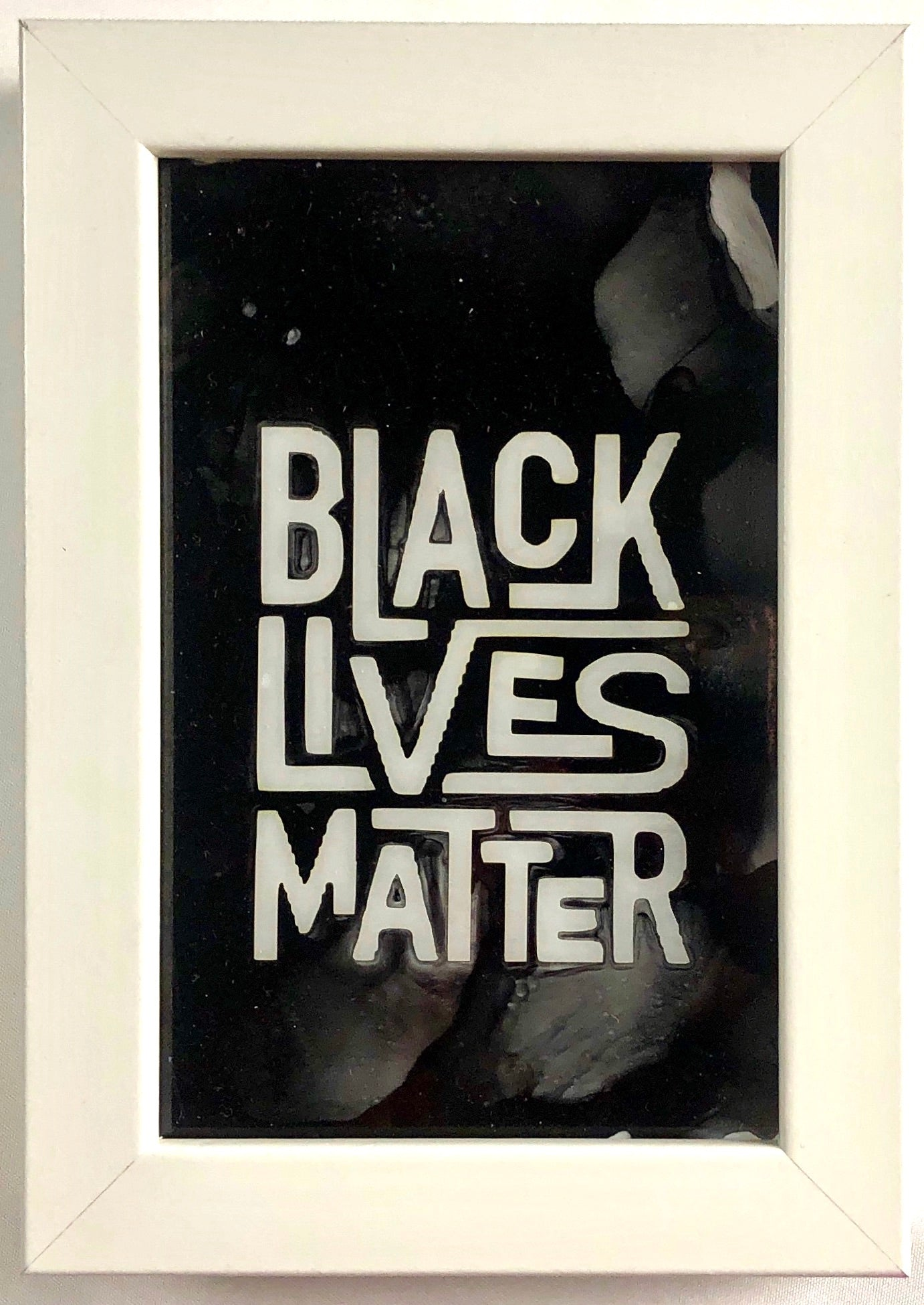 Black Lives Matter Unique Sign