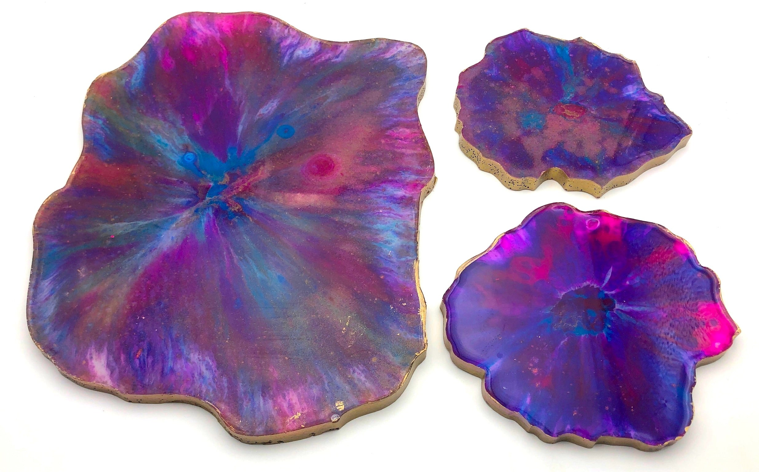 Starburst | set of 2 coasters & 1 tray