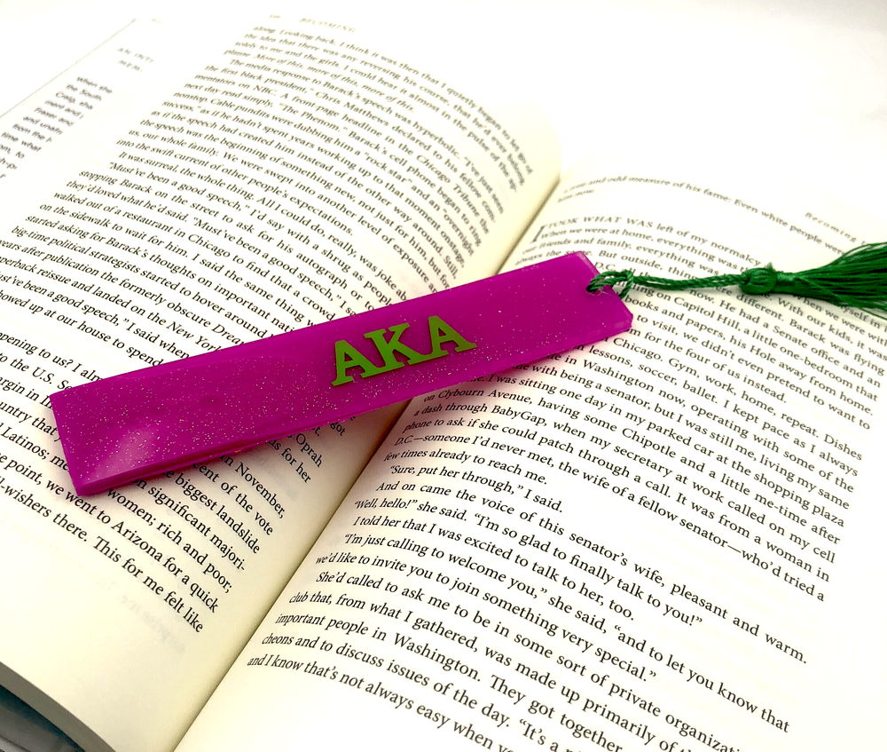 Alpha Kappa Alpha Bookmark