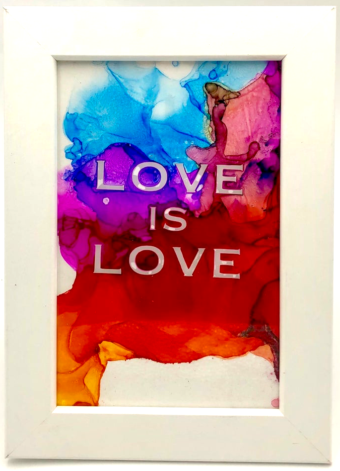 Fire Quote - Love is Love