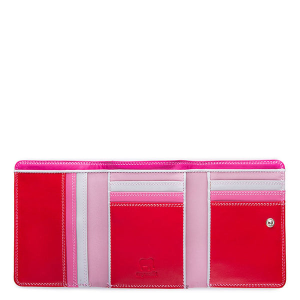 Mywalit Small Tri-fold Wallet – Ruby
