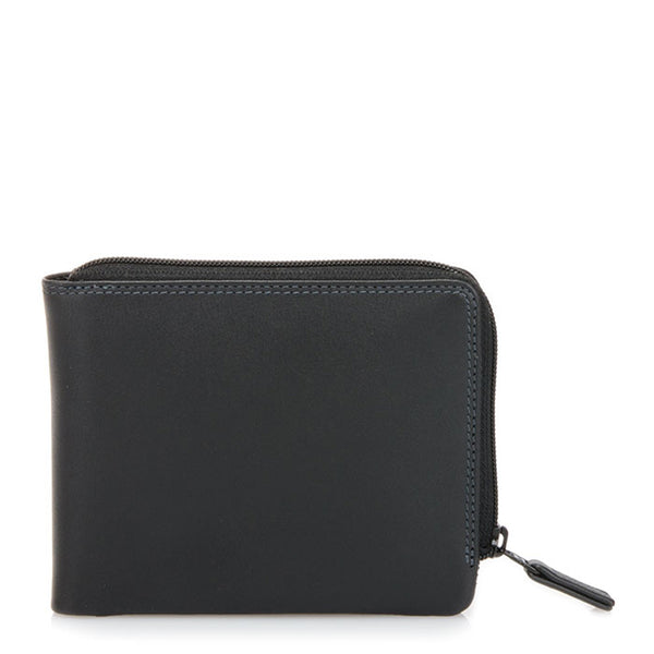 Mywalit Zip Around Men's Wallet – Black Grey