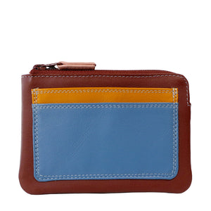 Mywalit Coin Purse With Outer Card Pocket – Sienna