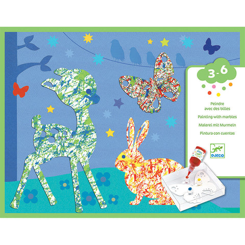 Le Petite Artist Painting Kit – Colorful Parade