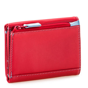 Mywalit Small Tri-fold Wallet with RFID – Red