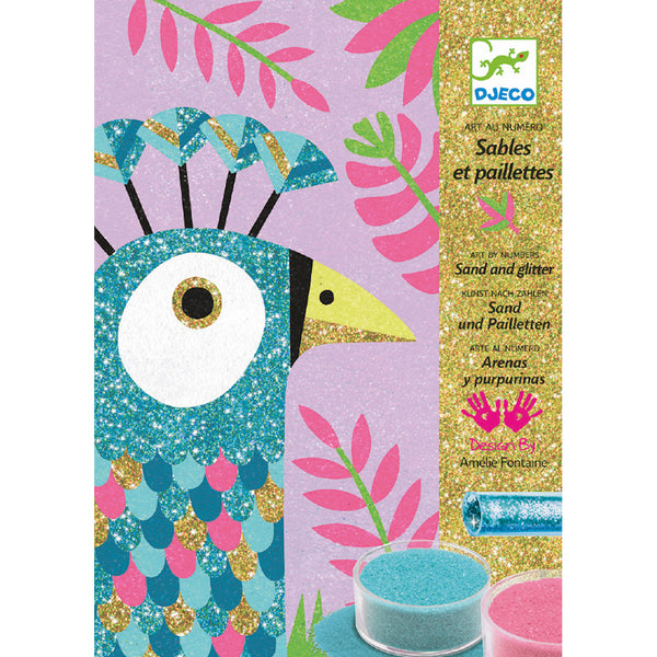Colored Sands Dazzling Birds Craft Kit