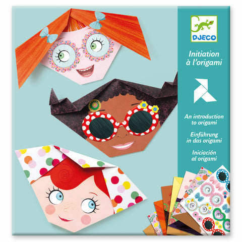Pretty Faces Origami Craft Kit