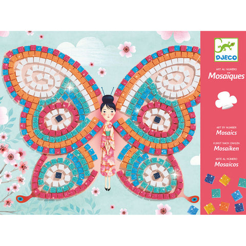 Butterfly Sticker Mosaic Craft Kit