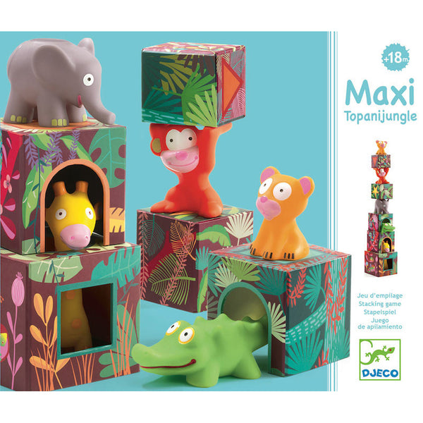 Maxi Topanijungle Nest and Stack Blocks
