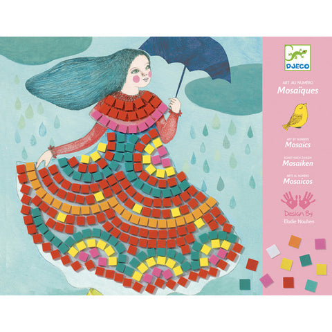 Party Dresses Sticker Mosaic Craft Kit