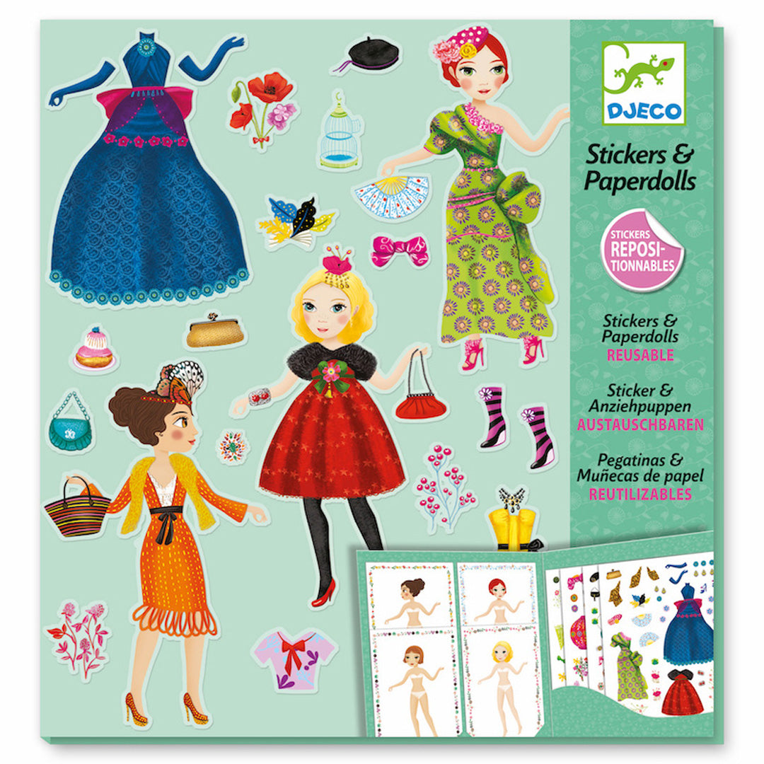 Massive Fashion Stickers and Paper Dolls