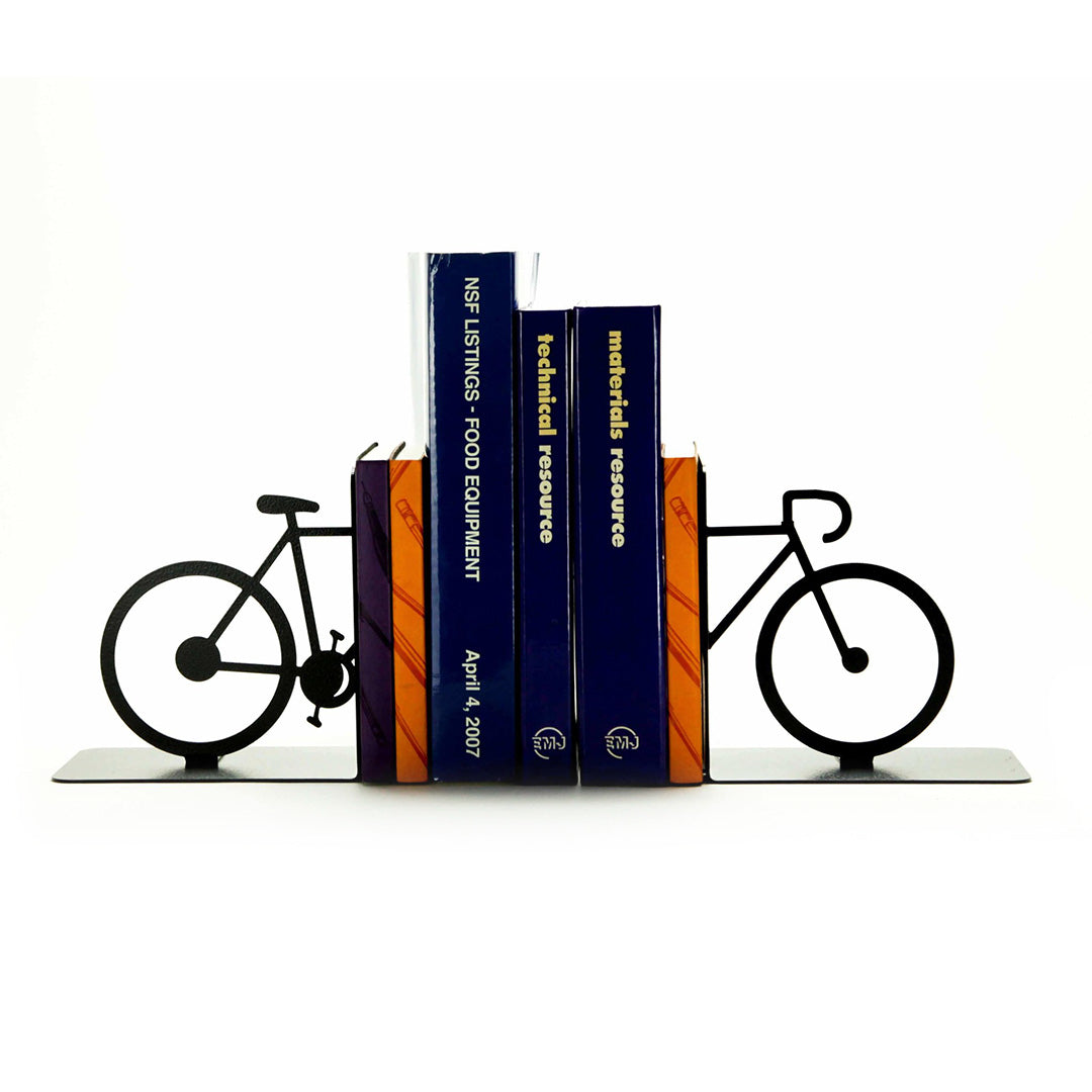 Split Bicycle Bookends