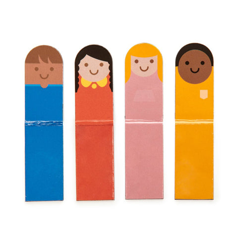 Magnetic Bookmark People