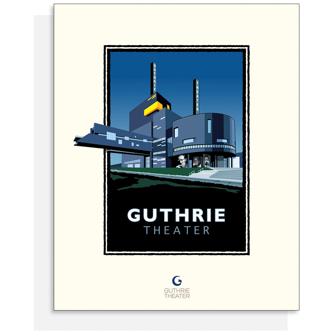 Guthrie Theater Card - White