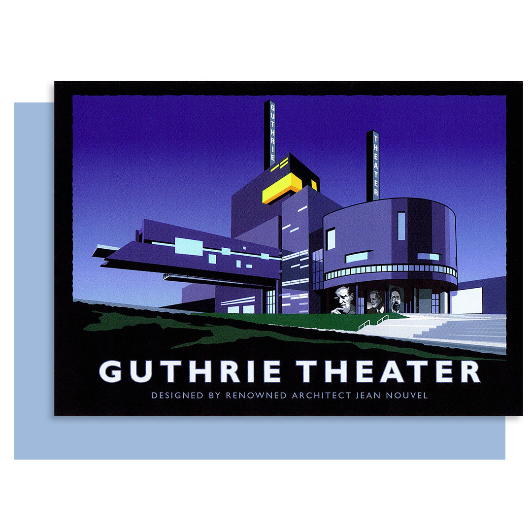 Guthrie Theater Card - Black