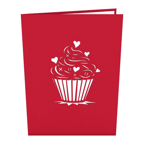 Lovepop 3D Card – Love Cupcake