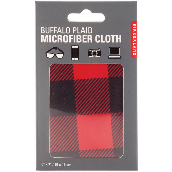 Buffalo Plaid Microfiber Cloth
