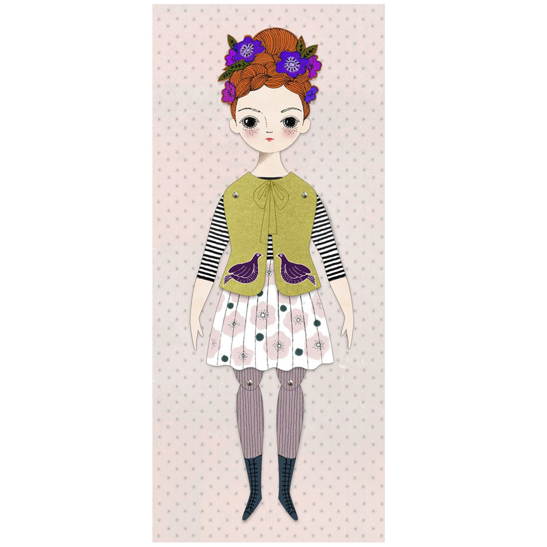 Florence Mailable Paper Doll