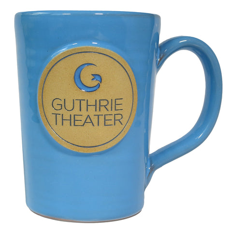 Handcrafted Guthrie Logo Mug - Light Blue