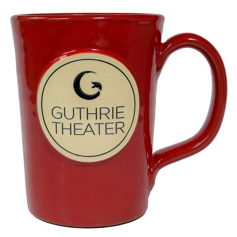 Handcrafted Guthrie Logo Mug - Red