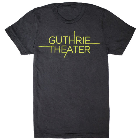 Guthrie Logo Short Sleeve T-Shirt Gray - Adult