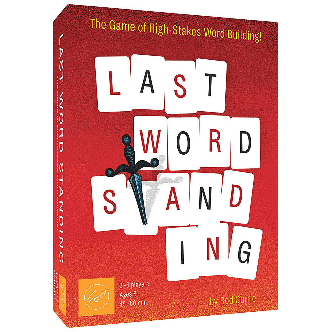 Last Word Standing: The Game of High-Stakes Word Building