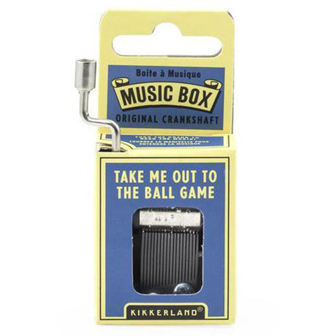 Take Me Out to the Ball Game Crank Music Box