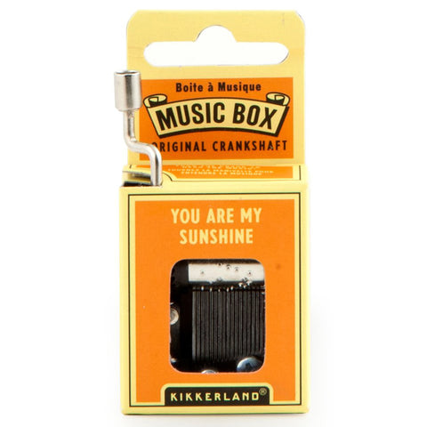 You Are My Sunshine Crank Music Box