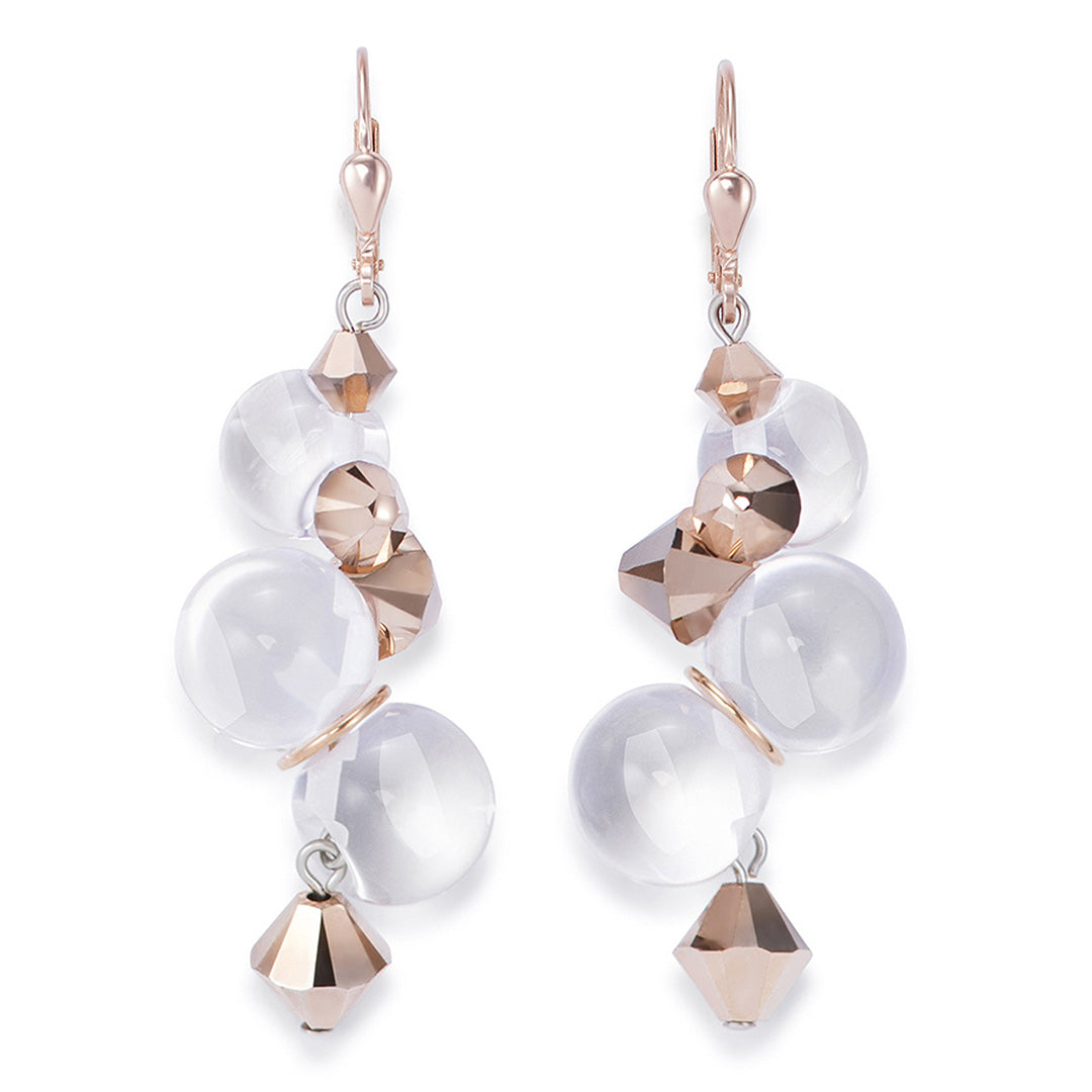 Coeur de Lion Earrings – Clear