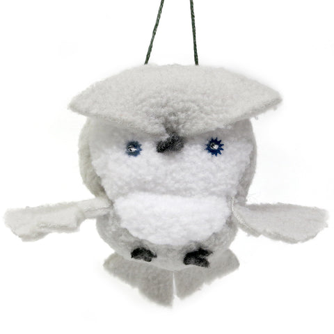 Plush Owl Ornament