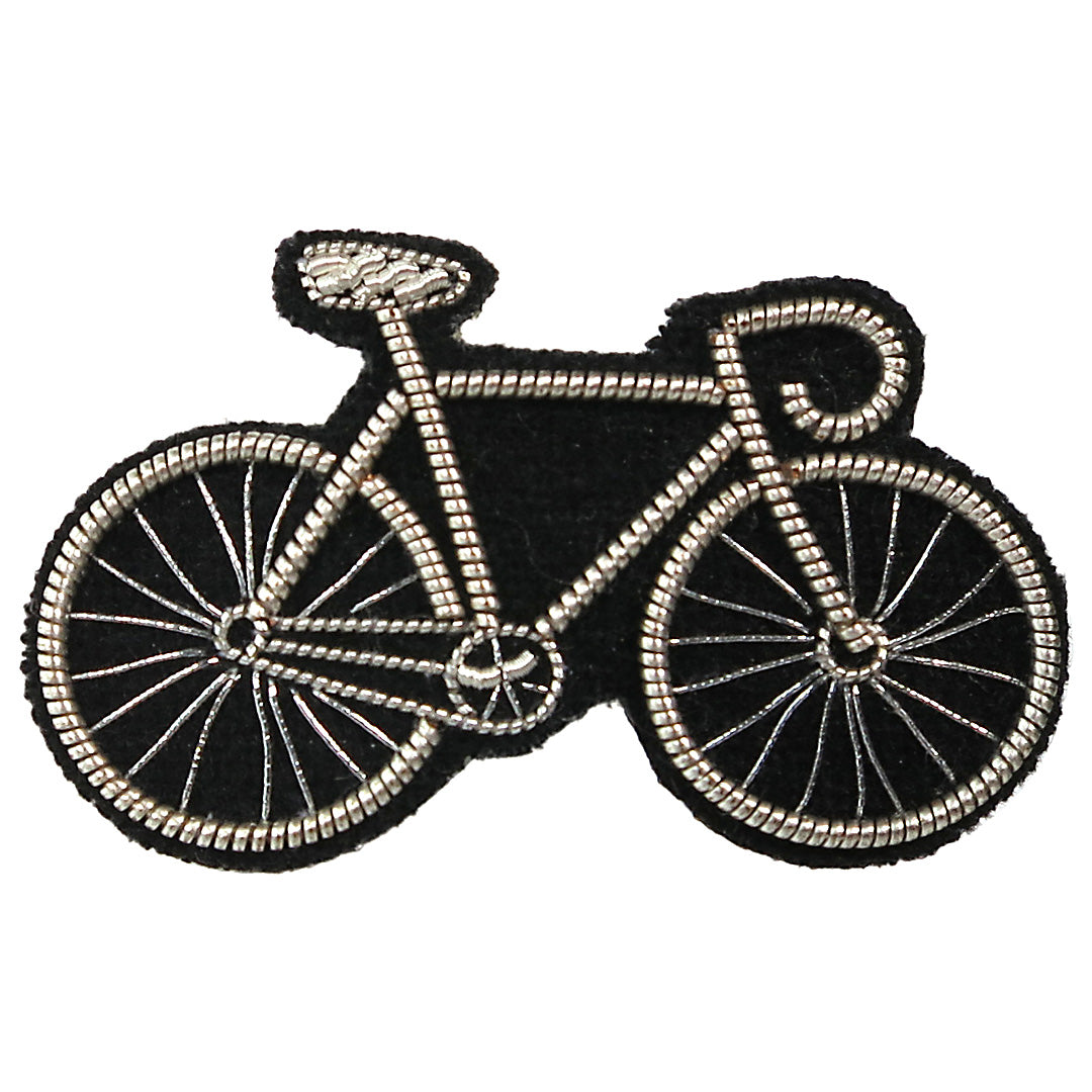Bicycle Embroidered Pin