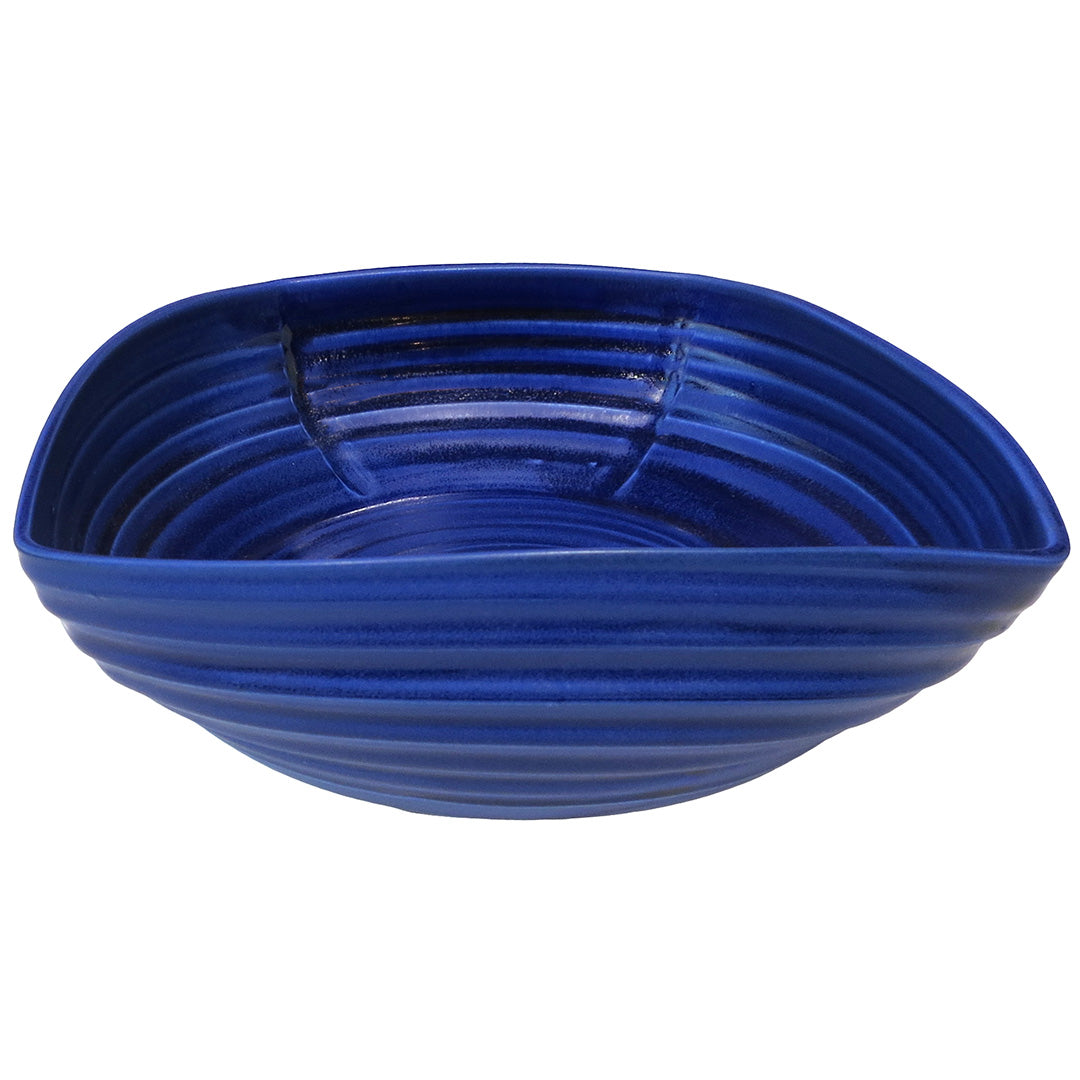 Monica Rudquist Porcelain Collection – Large Blue Platter