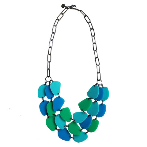 Silvercocoon STONE21 Necklace – Blue